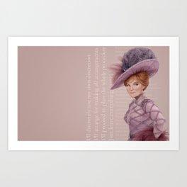 Hello Dolly Art Print
