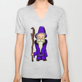 Wizard Unisex V-Neck