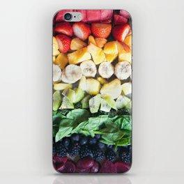 Rainbow Fruit iPhone Skin