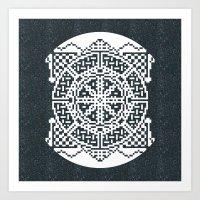 Emblem Art Print