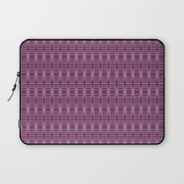 Hopscotch hex-Plum Laptop Sleeve