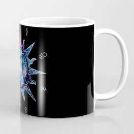 Crystal Sun | Planet Symbol | Watercolor Coffee Mug