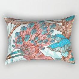 River Hoopoe Rectangular Pillow