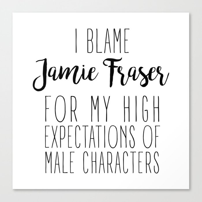 High Expectations - Jamie Canvas Print