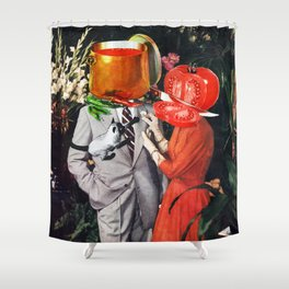 Hot Couple Shower Curtain