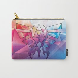 Zelda Triforce colorful Diamond Carry-All Pouch