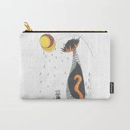 Cat & Mouse Ponder the Universe Carry-All Pouch