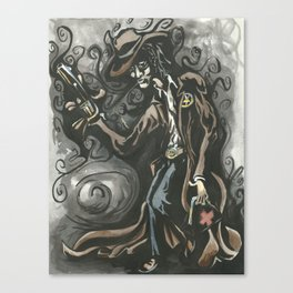 Sheriff of Shadows Canvas Print