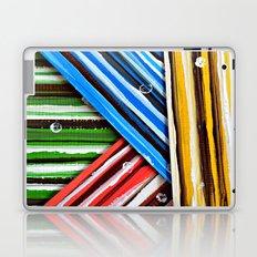 Striped Planes Laptop & iPad Skin