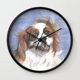 Holly by the sea Wall Clock