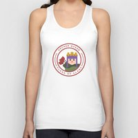 archer Tank Tops featuring Archer Queen by chiams