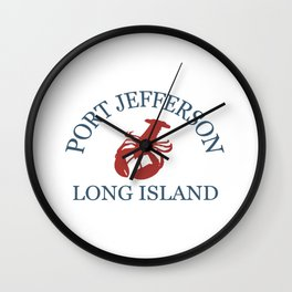 Port Jefferson- Long Island. Wall Clock