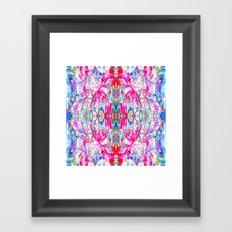 Sophisticated Psychedelic Boho II Framed Art Print