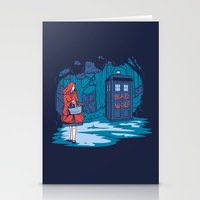 hallion Stationery Cards featuring Big Bad Wolf by Karen Hallion Illustrations