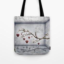 Der alte Liebesbaum  Tote Bag