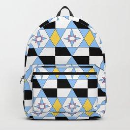 symetric patterns 46 -mandala,geometric,rosace,harmony,star,symmetry Backpack