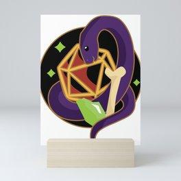 Warlock Snake (D&D Class Snakes) Mini Art Print