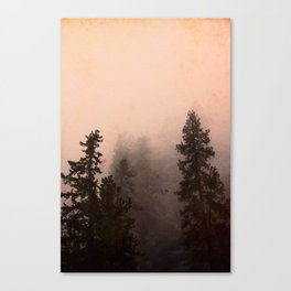 Deep in Thought - Forest Nature Photography Canvas Print
