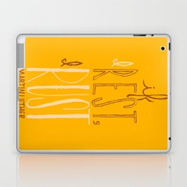 """""""If I Rest, I Rust"""" - Martin Luther (alternate color) Laptop & iPad Skin"""