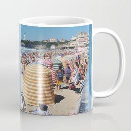 Biarritz Beach Tents Coffee Mug