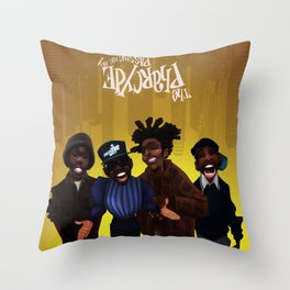 Passing me by Throw Pillow