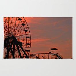 Sundown in Fun Town Rug