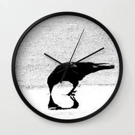 The Reflection Wall Clock