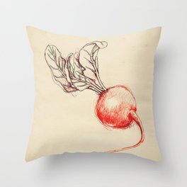 Cabinet of Curiosities No.8 Throw Pillow