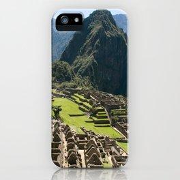 Machu hu Peru iPhone Case