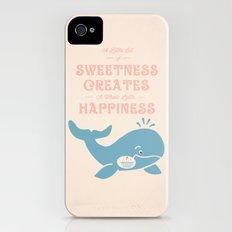 A Little Sweetness Slim Case iPhone (4, 4s)
