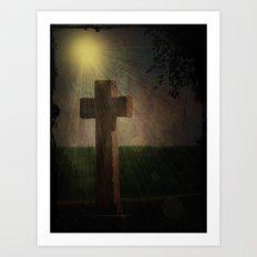 Im Licht Art Print