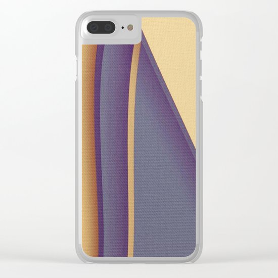 Solitary Sail Clear iPhone Case
