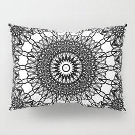 Loops Mandala Pillow Sham
