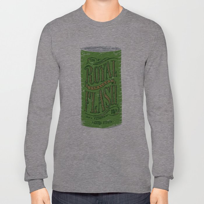 Royal Straight Flash Long Sleeve T-shirt
