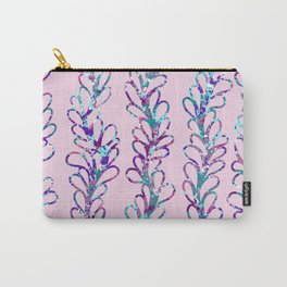 Pink Vines Carry-All Pouch