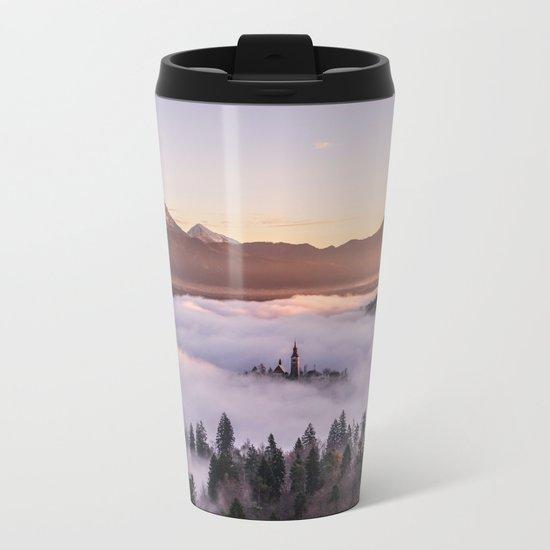 castle  Metal Travel Mug