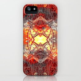 Spontaneous human combustion iPhone Case