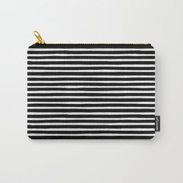 Stripes, Print, Minimal, Scandinavian, Abstract, Pattern, Modern art Carry-All Pouch