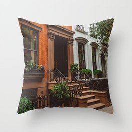 Brooklyn Heights II Throw Pillow