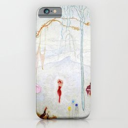 Dance Like Nobody Is Watching (Music to Dance By), A Portrait by Florine Stettheimer iPhone Case