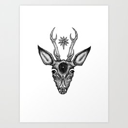 Anointed Art Print