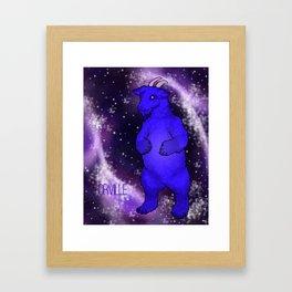 Orville the Space Beast Framed Art Print