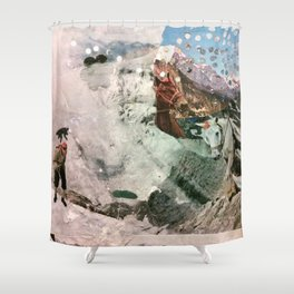 ands of the arth Shower Curtain