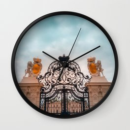 The Lions Gate Wall Clock