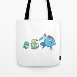 Watery Family #2 Tote Bag
