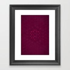 Metatron's Cube Framed Art Print