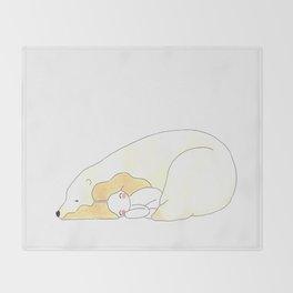 Sleepy Head Throw Blanket