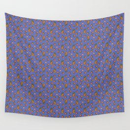 Blue fruits Wall Tapestry