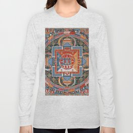 Mandala of Jnanadakini Long Sleeve T-shirt