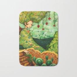 Flower Tree Bath Mat